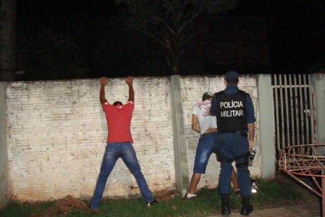 Operações policiais nas ruas têm contribuído para a redução da criminalidade, segundo as forças policiais na cidade de Dourados. - Crédito: Foto: Cido Costa/Arquivo
