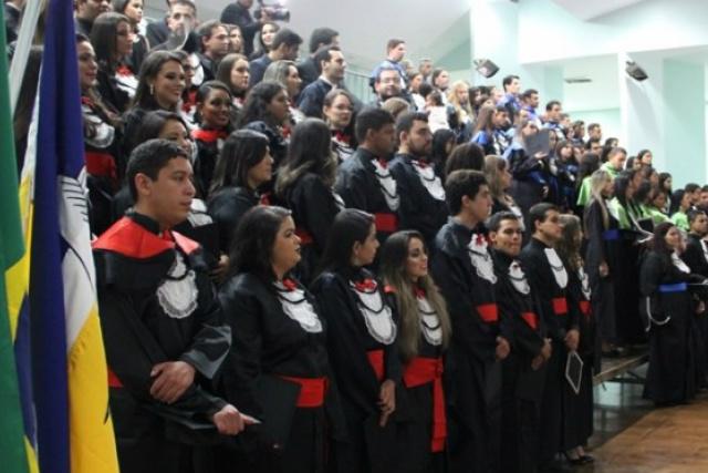 Uems está em plena temporada de formaturas.no Estado. - Crédito: Foto: Divulgação