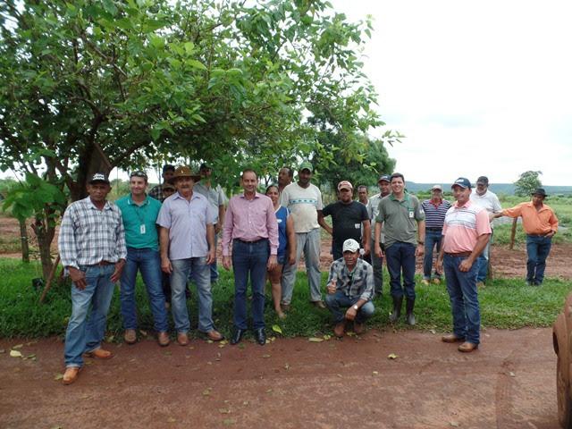 Encontro foi realizado em Terenos e ofereceu aos produtores de Camapuã e Sidrolândia, oportunidade de trocar experiências e conhecer técnicas de baixo custo e sustentabilidade ambiental. - Crédito: Foto: Assessoria
