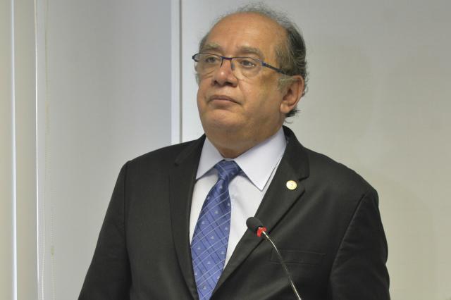 Gilmar Mendes é relator da prestação de contas de Dilma. - Crédito: Foto: Antônio Cruz/Agência Brasil