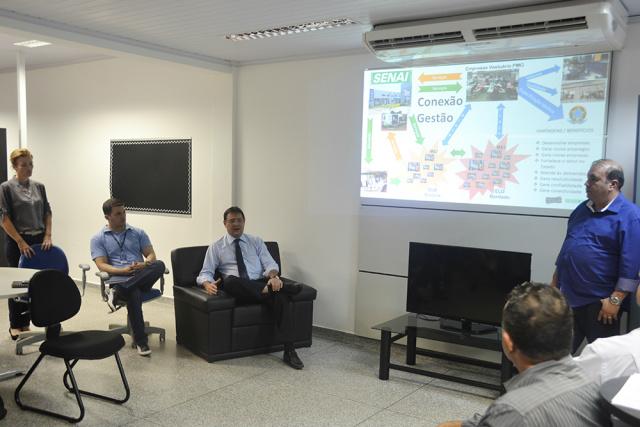 Quinta-feira foi a 1ª reunião do Comitê Têxtil de MS. - Crédito: Foto: Divulgação