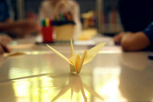 Tsuru é a imagem de um pássaro sagrado no Japão, e o símbolo do origami japonês. - Crédito: Foto: Divulgação