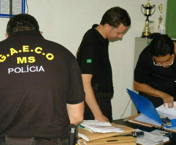 Operação do Gaeco realizou prisões na época da denúncia -