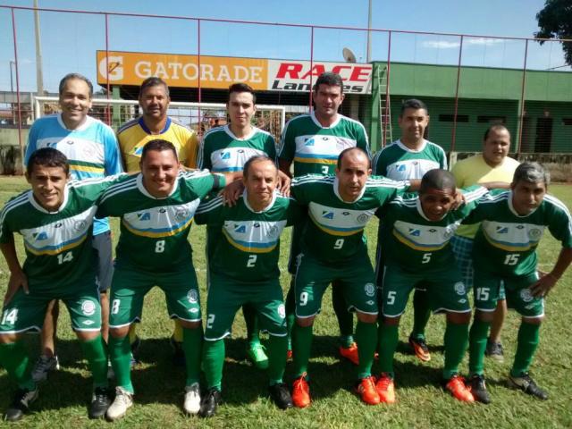 Equipe da AABB Dourados que representa MS no minicampo. - Crédito: Foto: Divulgação