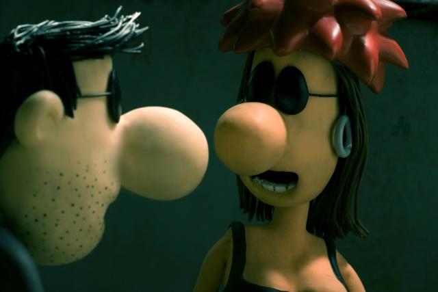 """""""Dossiê Rê Bordosa"""" é animação produzida em stop motion, que assume  um tom de documentário, mistura depoimentos de pessoas reais com personagens de ficção. - Crédito: Foto: Divulgação"""