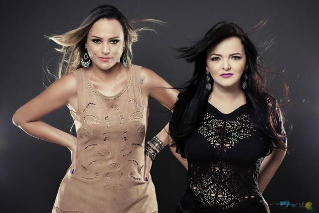 Irmãs Patrícia & Adriana formam uma das primeiras duplas femininas do Mato Grosso do Sul. - Crédito: Foto: Divulgação