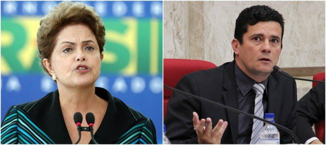Dilma monitorava criminosamente Juiz Sérgio Moro -