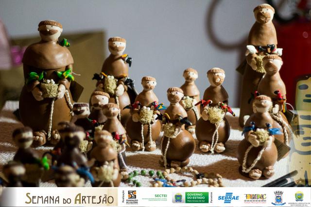 Durante a feira, o público poderá prestigiar trabalhos feitos por artesãos de alguns municípios do Mato Grosso do Sul. - Crédito: Foto: Leandro Martins