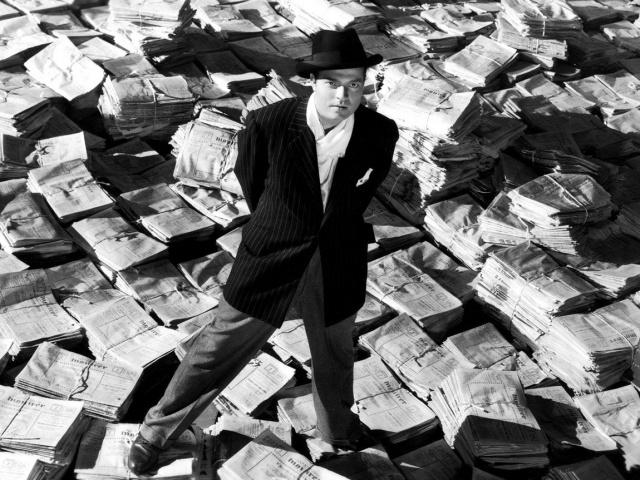 """""""Cidadão Kane"""" narra a vida e legado de Charles Foster Kane e com base no magnata da imprensa William Randolph Hearst e de Orson Welles. - Crédito: Foto: Divulgação"""