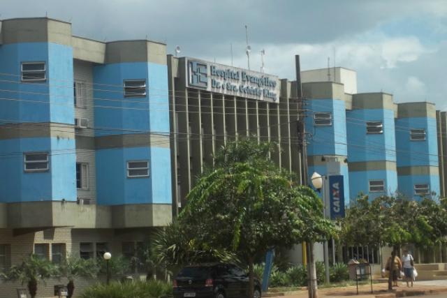 Médico chegava ao trabalho no Hospital Evangélico quando foi feito refém e levado para uma mata. - Crédito: Foto: Arquivo