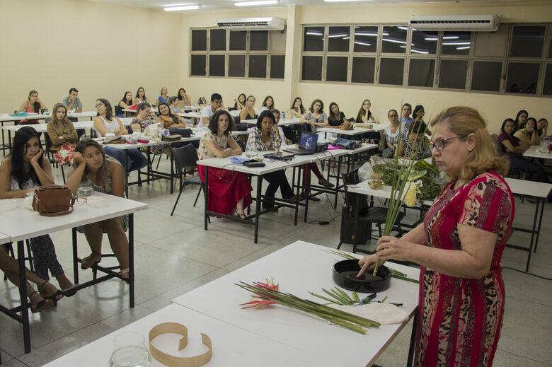 Primeira jornada acadêmica do curso de Desing de Interiores. Foto: Unigran - Crédito: divulgação