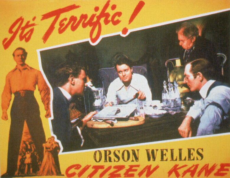 Vencedor do Oscar de melhor roteiro original em 1942, Cidadão Kane. Foto: Warner Bros -