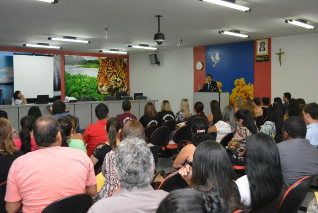 A 1ª capacitação integrada de Bataguassu aconteceu segunda-feira - Crédito: Foto: Divulgação