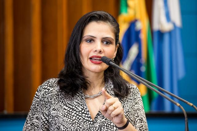 Deputada Grazielle Machado trabalha para fortalecer o PR em todo o Estado. - Crédito: Foto: Divulgação