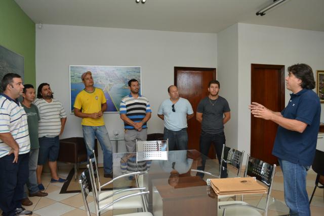 Prefeito Caravina deu posse na terça-feira - Crédito: Foto: Assessoria