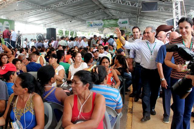 Reinaldo destacou os esforços no fortalecimento das ações de reestruturação iniciadas na Caravana. - Crédito: Foto: Chico Ribeiro