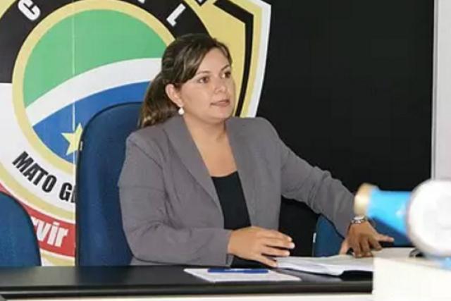 Geraldo tratou pessoalmente com Reinaldo Azambuja a questão da falta de delegada titular em Dourados. - Crédito: Foto: Arquivo