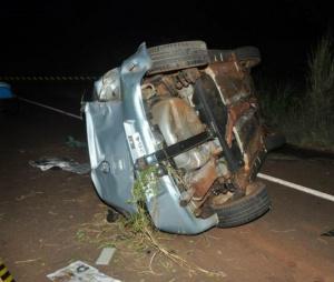 Jovem dirigia carro de um homem que tinha  acabado de conhecer. - Crédito: Foto: Vicentina News