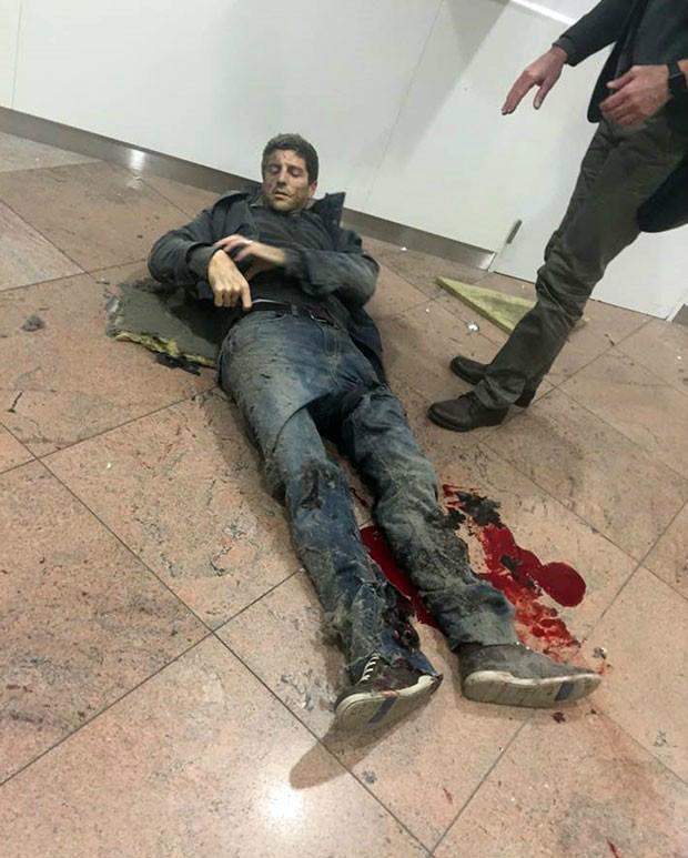 Ex-jogador de basquete brasileiro ficou ferido em atentado na Bélgica  Foto: Ketevan Kardava/ Georgian Public Broadcaster/AP -