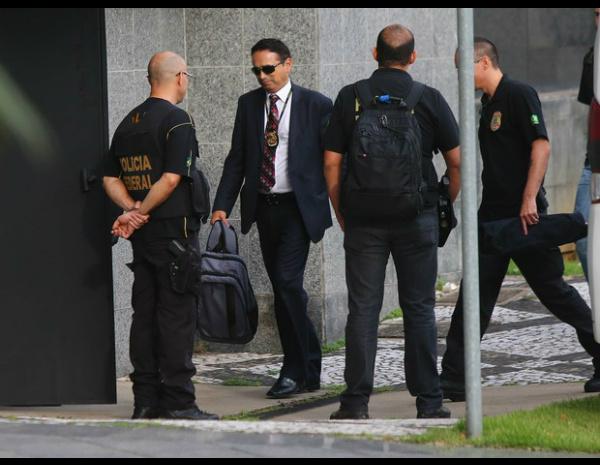 A Polícia Federal - Crédito: 22