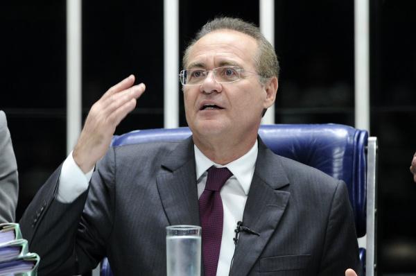 Presidente do Senado, Renan Calheiros -