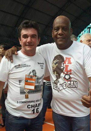 Andrés Sanchez e André Luiz OIiveira -