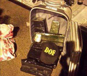 Droga estava na mala da mulher que seguia de ônibus para Sorriso. - Crédito: Foto: Divulgação