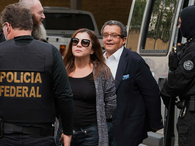 João Santana e sua mulher e sócia, Mônica Moura, estão presos em Curitiba   Foto: Cassiano Rosário/Futura Press/Estadão Conteúdo -
