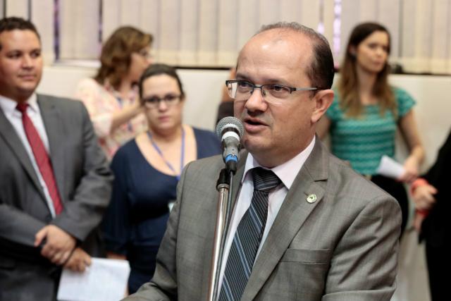 Barbosinha pediu a prorrogação dos trabalhos por mais 60 dias. - Crédito: Foto: Assessoria