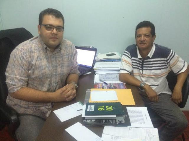 Alan e José, do Água Boa. - Crédito: Foto: Divulgação