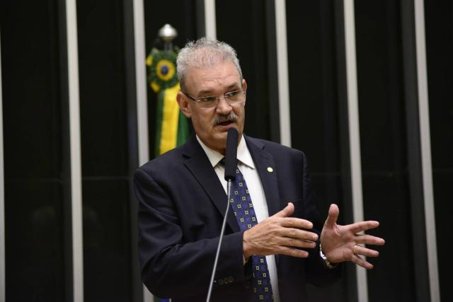 PEC é aprovada em primeiro turno na Câmara federal, sob a liderança de Geraldo Resende. - Crédito: Foto: Gustavo Lima