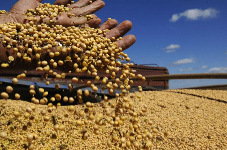 A projeção inicial para a safra de soja 2015/16 era de 2.420 milhões de hectares. -