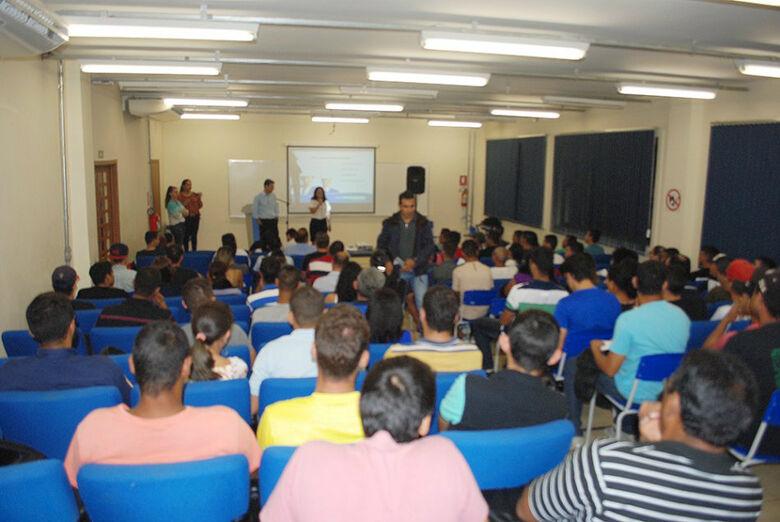 Senai realiza aulas inaugurais de nove cursos técnicos. Divulgação -