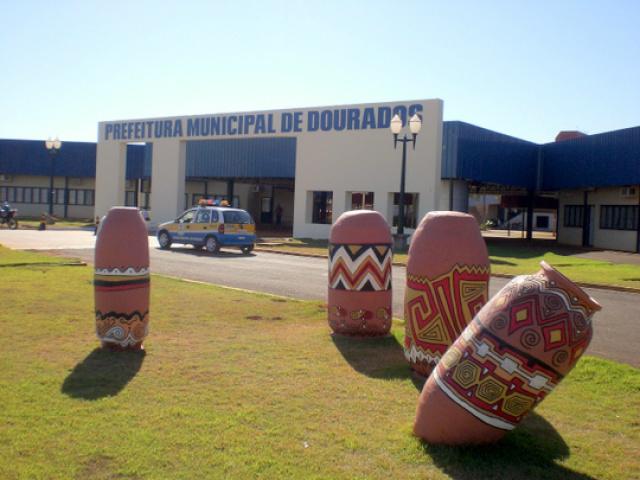 Prefeitura de Dourados. Foto: Divulgação -