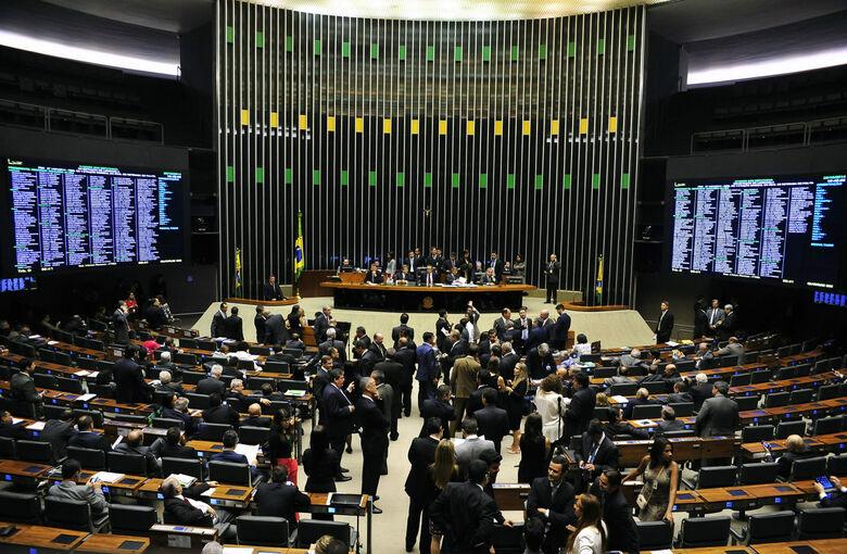 Hoje, nada menos de 25 partidos têm assento na Casa.  Foto: Divulgação -