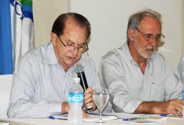"""José Araldo Gallassini, presidente da Coamo, """"investimento será bom para os cooperados e  MS"""" - Crédito: Foto: Marcelo Armôa/Semade"""