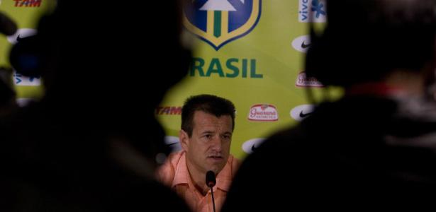 Entrevista com Dunga - Convocação para Eliminatórias da Copa, em setembro de 2008. Foto: Divulgação -