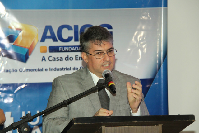 Empresário João Carlos Polidoro, presidente da Associação Comercial e Industrial da Capital. - Crédito: Foto: Miguel Palácios