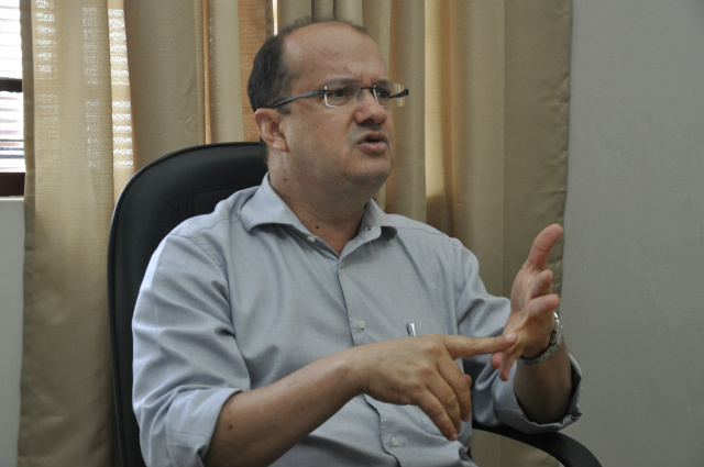 Deputado estadual Barbosinha aceita convite do governador e vai comandar a Secretaria de Estado de Justiça e Segurança Pública. - Crédito: Foto: Marcos Santos