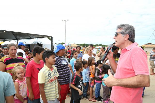Murilo afirma que Dourados chega ao final do ano gerando empregos. - Crédito: Foto: A. Frota/Assecom