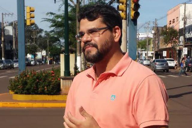 Maurício é autor do projeto. - Crédito: Foto: Divulgação