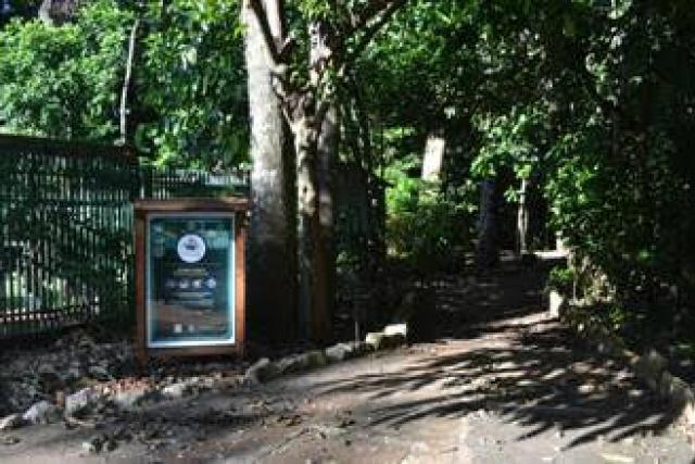 Trilha será aberta para visitação. - Crédito: Foto: Divulgação