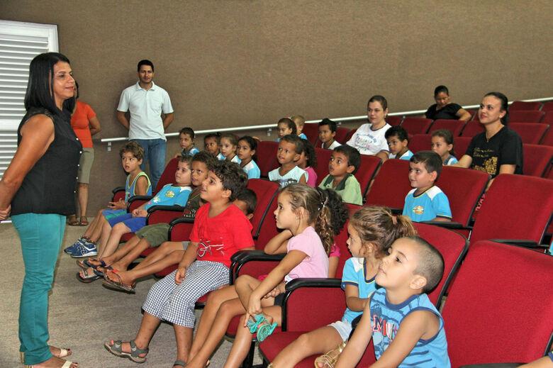 Município realiza palestra com alunos da Educação Infantil -