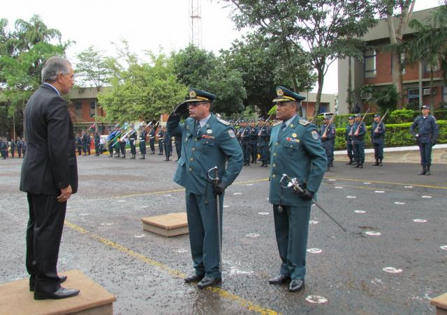 Novo comandante-geral da Polícia Militar do MS assumiu corporação na manhã de ontem substituindo o coronel Oliveira. - Crédito: Foto: Divulgação