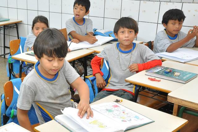 Educação indígena tem avanços em Dourados. - Crédito: Foto:  Assecom/Arquivo