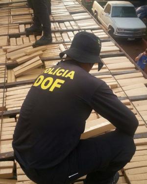 DOF tem combatido o tráfico na fronteira de Mato Grosso do Sul. - Crédito: Foto: Divulgação