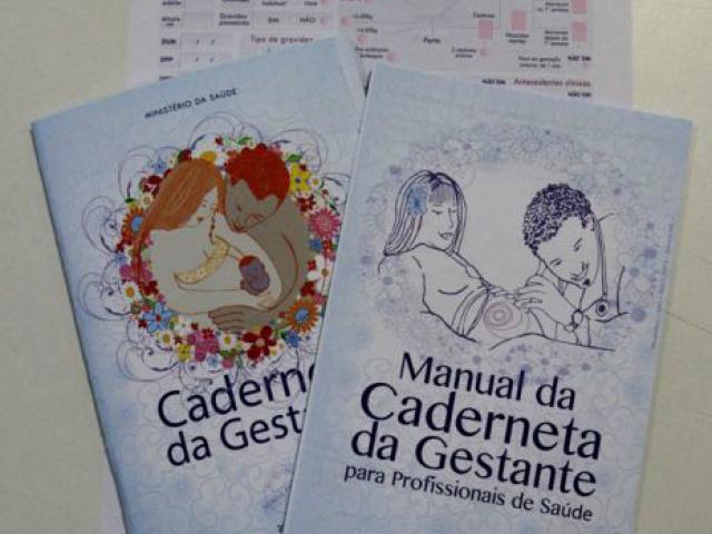 Caderneta favorece a quantificação da atenção pré-natal. - Crédito: Foto: Divulgação