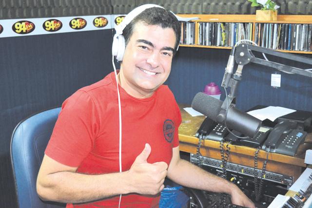 Marçal Filho, diretor da excelente Rádio 94FM e ex-deputado estadual. -