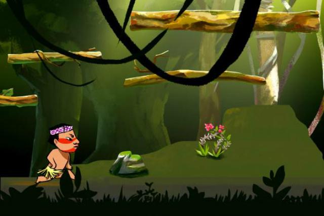 Em lugar de armas, monstros e inimigos armados, o novo jogo terá índios, flechas e bichos. - Crédito: Foto: Divulgação