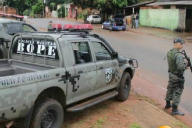 Bope realiza força tarefa para prender foragidos da Justiça. - Crédito: Foto: CG News